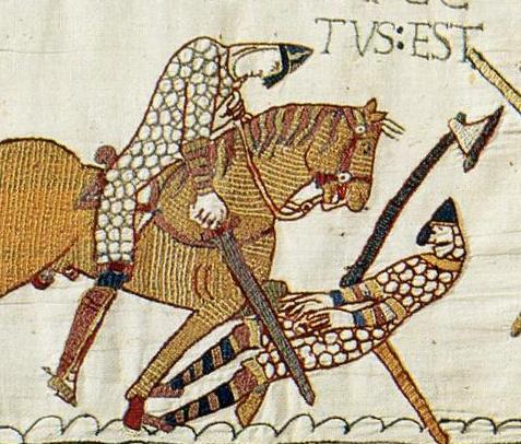 death of Harold _bayeux_tapestry