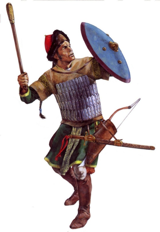 christa-hook-showing-a-turkish-muslim-warrior-of-the-ayyubid-dynasty-during-the-third-crusade